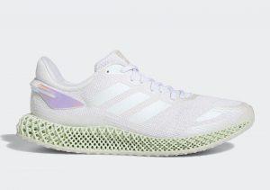 Adidas 4D Run 1 White/Rainbow