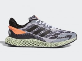 Adidas 4D Run 1 White/Core Black/Signal Coral
