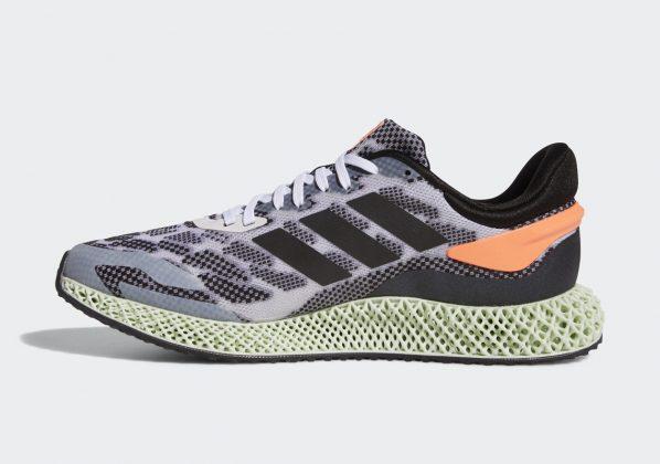 Adidas 4D Run 1 White/Core Black/Signal Coral