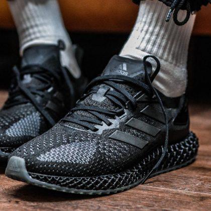 Adidas 4D Run 1 Triple Black