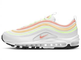 "Nike Air Max 97 ""White Neon Orange Volt"""
