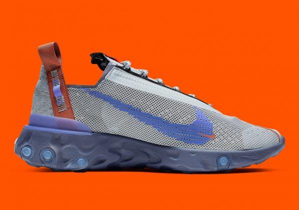 Nike ISPA React WR Wolf Grey/Sapphire/ Dusty Peach