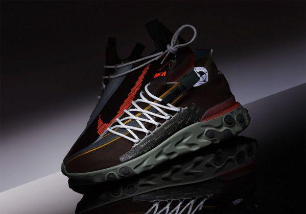 Nike ISPA React WR Brown