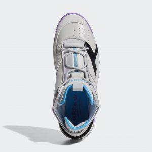 Adidas Streetball Cloud Grey Two/Active Purple/Shock Cyan
