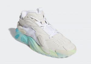 Adidas Streetball Cloud White/Glow Green/Hi-Res Aqua
