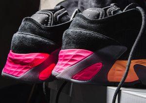 Adidas Streetball Core Black/Solar Yellow/Shock Pink