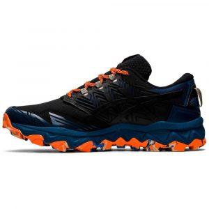 Asics Gel FujiTrabuco 8 Black/Blue/Orange