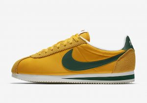 Nike Classic Cortez Yellow Ochre/Classic Green