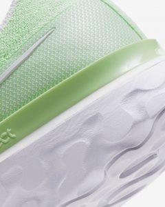 Nike React Infinity Run Flyknit Steam Green/Spruce Aura/White