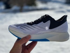 New Balance FuelCell White/Blue