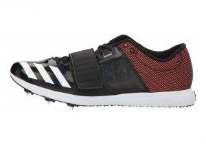 Adidas Adizero TJ/PV - Core Black Ftwr White Orange (CG3841)