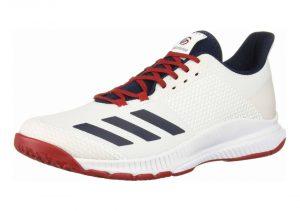 White/Collegiate Navy/Power Red (EF0131)