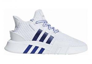 Adidas EQT Bask ADV - White Ftwr White Active Blue Core Black Ftwr White Active Blue Core Black (BD7782)