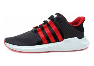 Adidas EQT Support 93/17 Yuanxiao - Carbon Core Black Scarlet (DB2571)