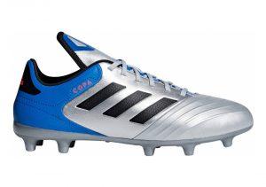 Adidas Copa 18.3 Firm Ground - Silver Silvmt Cblack Fooblu Silvmt Cblack Fooblu (DB2463)