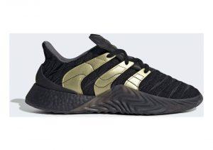 Black/Gold Metallic/Carbon (D98155)
