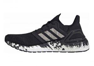 Adidas Ultraboost 20 - Core Black Ftwr White Signal Coral (EG1342)