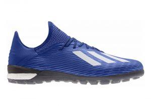 Adidas X 19.1 Turf - Blau (EG7136)