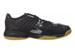 Adidas Ligra 5 - Black Core Black Gold Met Ftwr White (BY2572)