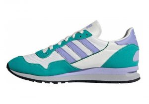 Adidas Lowertree SPZL - White Off White Lpurpl Aerree Owhite Lpurpl Aerree (B41822)