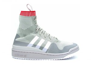 Adidas Forum Primeknit Winter - Grau Gridos Ftwbla Escarl (BZ0646)