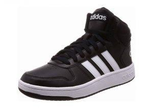 Adidas Hoops 2.0 Mid - Black (BB7207)