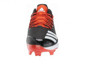Adidas Icon Bounce TPU - Black White Collegiate Orange (AQ0158)