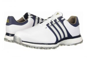 Ftwr White/Collegiate Navy/Silver Metallic (F34991)