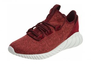 Adidas Tubular Doom Sock Primeknit - Red (BY3560)