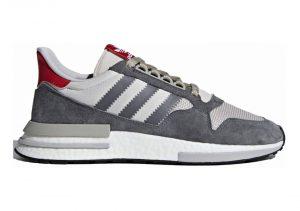 Grey Four / Footwear White-scarlet (FB9826)