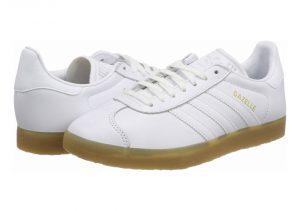 Adidas Gazelle Leather - Blanco Ftwr White Ftwr White Gum 3 Ftwr White Ftwr White Gum 3 (BD7479)