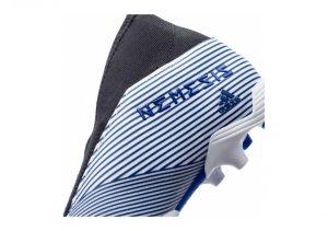 Adidas Nemeziz 19.3 Firm Ground Laceless - Weiß;Blau (EG7248)