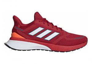 Adidas Nova Run - rouge bordeaux/blanc/orange fluo (EE9262)