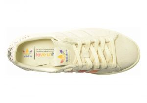 Adidas Campus Pride - Cream White Trace Pink Trace Scarlet (B42000)