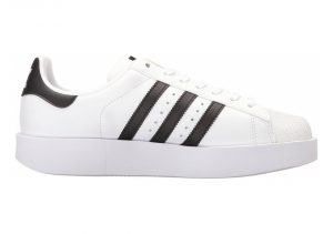 Adidas Superstar Bold Platform - WHITE BLACK (BA7666)