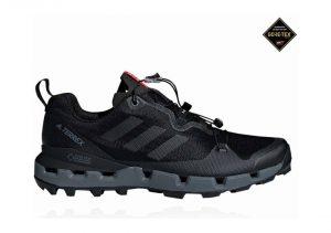 Adidas Terrex Fast GTX Surround - Black Grey Five Hi Res Red (AQ0365)