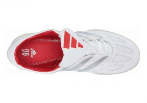 Adidas Predator Precision David Beckham Shoes - Footwear White / Silver Metallic / Predator Red (F97224)