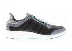 Adidas Pureboost 2.0 - Grey Core Black Green AQ4440 (AQ4440)