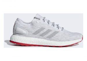 Adidas Pureboost LTD - White Ftwr White Grey One F17 Scarlet (CM8333)