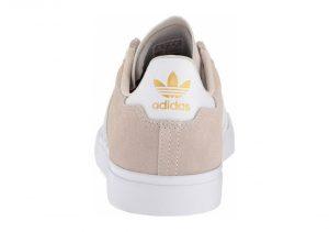 Adidas Campus Vulc II - White Cwhite Ftwwht Gold Mt Cwhite Ftwwht Gold Mt (DB0385)