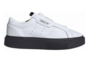 Adidas Sleek Super Zip - White White Ef1899 (EF1899)