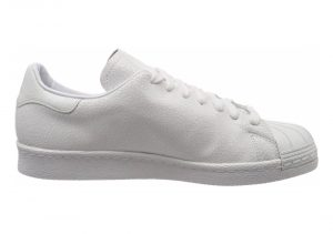 Adidas Superstar 80s Clean - Weiß Ftwr White Ftwr White Gold Met Ftwr White Ftwr White Gold Met (AQ1022)