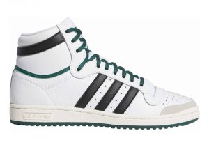 Adidas Top Ten Hi - Blanc Noir Vert (EF6364)