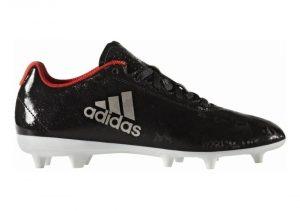 Adidas X 17.4 Firm Ground - Core Black/Platin Metallic/Core Red (BA8564)