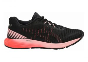 Asics DynaFlyte 3 - Black / Flash Coral (1012A002002)