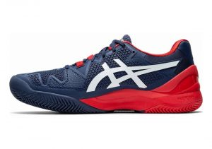 Asics Gel Resolution 8 Clay - Peacoat White (1041A076400)
