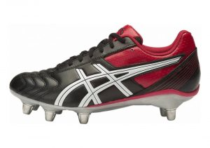 Asics Lethal Tackle - BLACK/RACING RED/WHITE (P507Y9023)