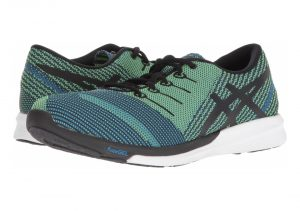 Asics FuzeX Knit - Directoire Blue/Black/Safety Yellow (T829N4390)