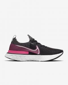 Nike React Infinity Run Flyknit Black/Pink