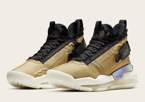 Nike Jordan Proto-Max 720 Gold/Black